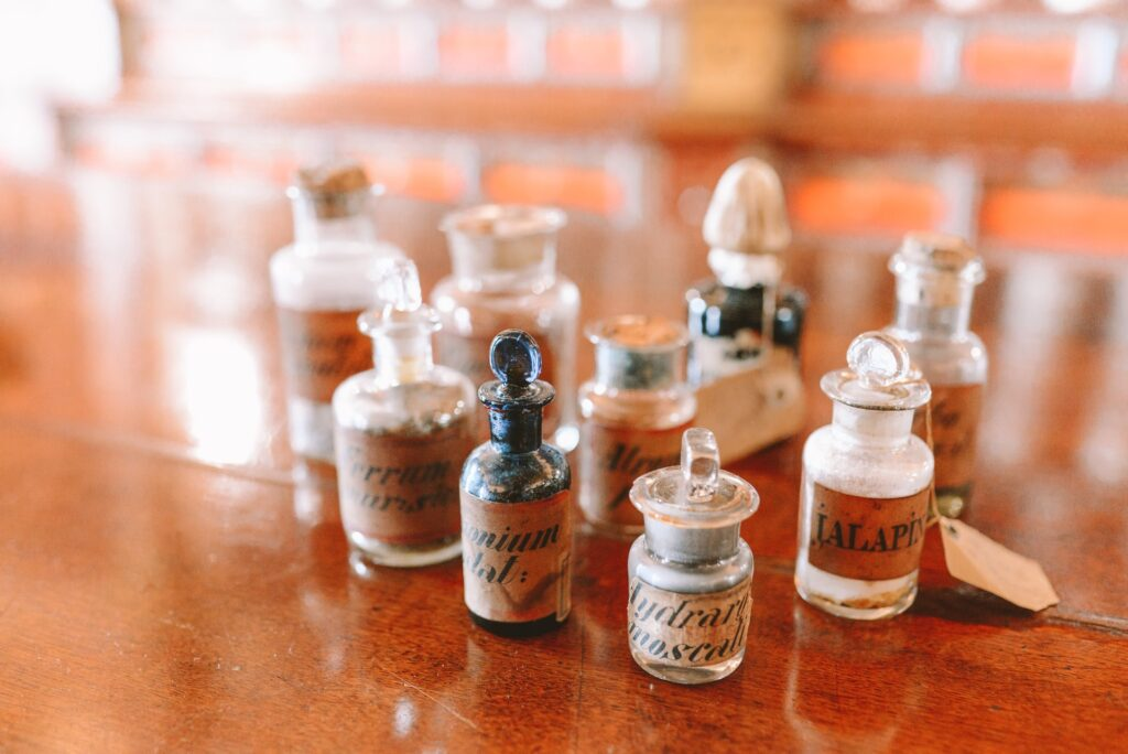 herbal salts and tinctures